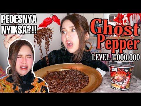 GHOST PEPPER NOODLES BIKIN NANGIS & LIDAH MATI RASA!! TERPEDAS DI DUNIA!