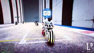 COMO CORRE ESTA MOTO TRINCHERA III CARRERA ACROBACIA Grand Theft Auto V PS4 GAMEPLAY 🔞💪☠