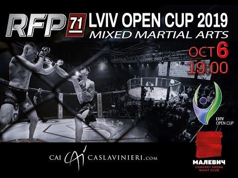 🔴LIVE  LVIV OPEN CUP-2019  MMA  RFP-71