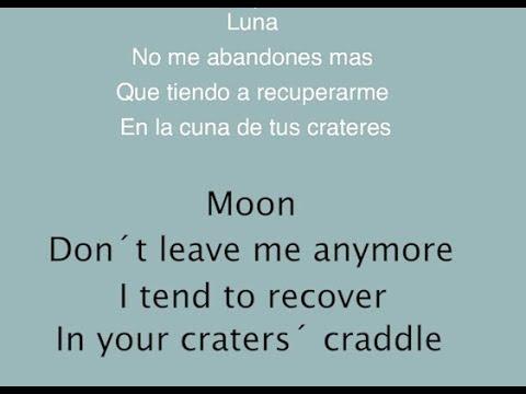 Zoe - Luna  ENGLISH LYRICS  [Lyric video]