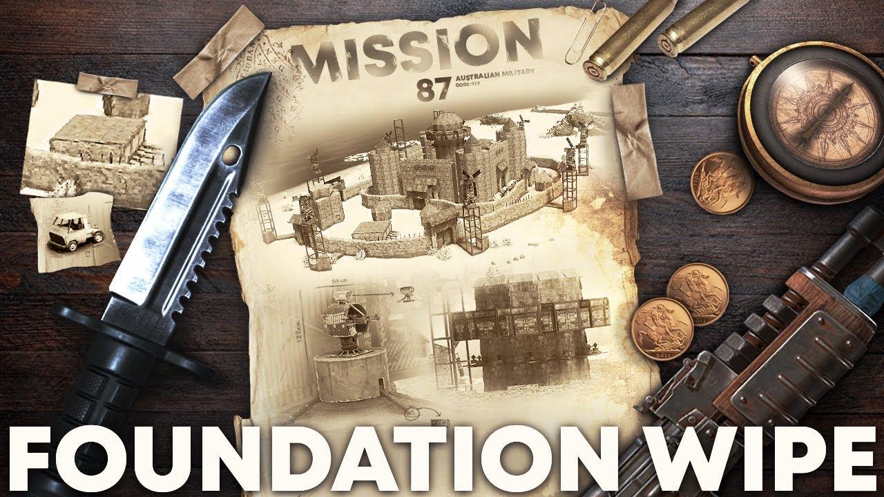 FOUNDATION WIPE - Rust