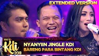Faank Wali Nyanyiin Jingle KDI Bareng Para Bintang KDI - Road To KDI 2019 (24/6) PART 3