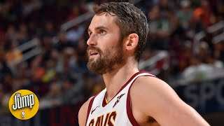 Kevin Love will be a trade piece for someone – Richard Jefferson | The Jump