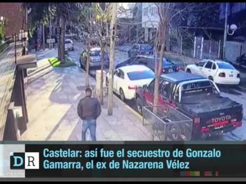 Mirá cómo secuestraron a plena luz del día a la ex pareja de Nazarena Vélez