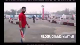 VIRAT KOHLI SHOWS THEIR SKILL WITH AMAZING ACCURACY ..WOOOOOOOOOOOOOOOW MUST WATCH