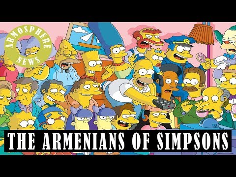 The Armenians Of Simpsons