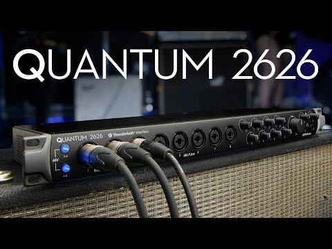 PreSonus—Introducing the Quantum 2626 Audio Interface