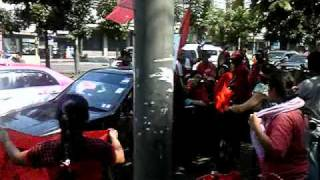 3/20 Thai Red Shirts demo at Rachadapisek rd., Bangkok 1