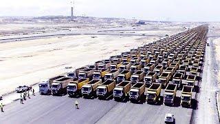 Die Türken übertrafen die Chinesen. Der Bau des größten Flughafens der Welt!