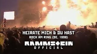 Rammstein - Heirate Mich & Du Hast (Rock am Ring Festival 1998)