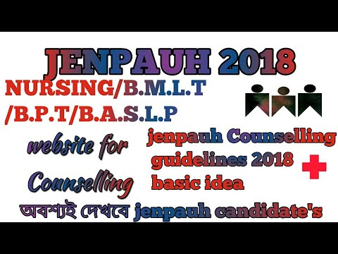 Jenpauh Counselling 2018 nursing,b.m.l.t,b.p.t,b.a.s.l.p #basis idea#