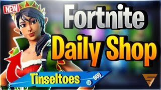 Fortnite Daily Shop *NEW* TINSELTOES SKIN (21 December 2018)