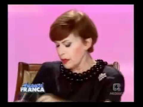 Franca Valeri La Sora Cecioni Youtube