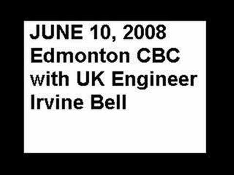 June 10, 2008 CBC Radio Trolleybus with Engineer Irvine Bell