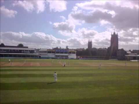 Somerset county cricket club radio commentary Nick Compton Worcs.v.Somerset 2012