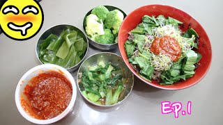 Lunch With Megan | Simple Korean Side Dishes Ep.1