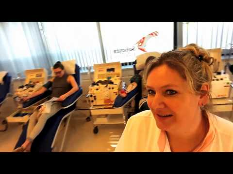 Petra donorassistente Sanquin Bloedbank Den Bosch leidt ons