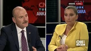 İçişleri Bakanı Süleyman Soylu CNN TÜRK'te Hande Fırat'ın Konuğu Oldu- 2 Temmuz 2018
