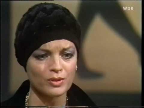 Romy Schneider - Je später der Abend (Talkshow, 1974), Teil 2/5