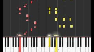 Ghostbusters Theme on Synthesia