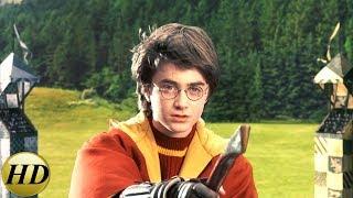 Гарри побеждает в своем первом матче по квиддичу Ч.1. Гарри Поттер и философский камень.