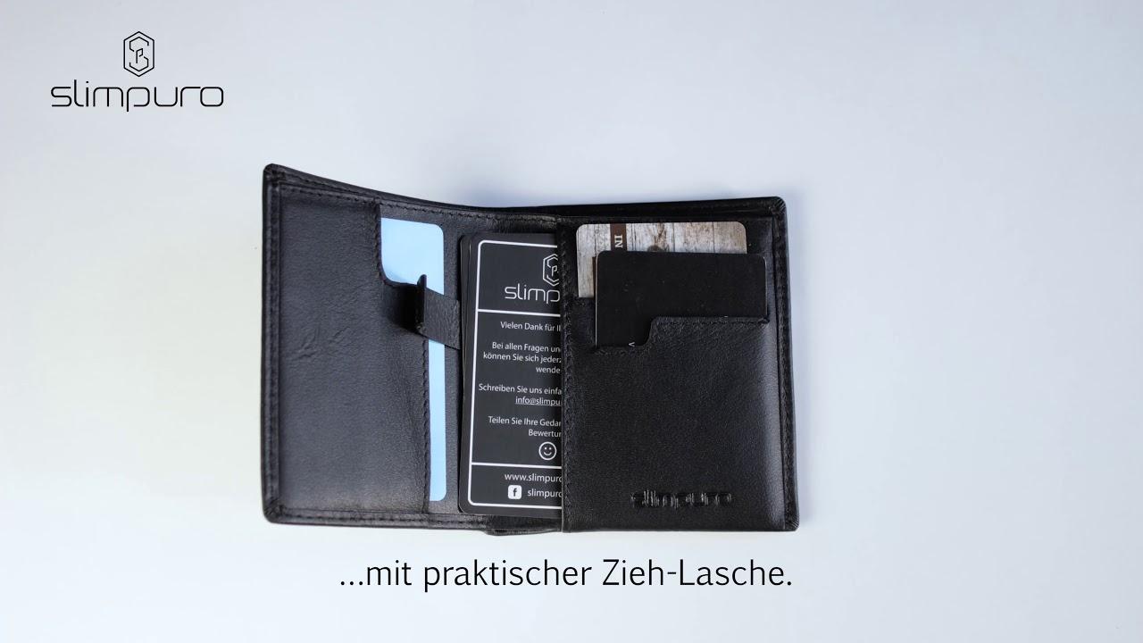 Thin Wallet Von Slimpuro Youtube