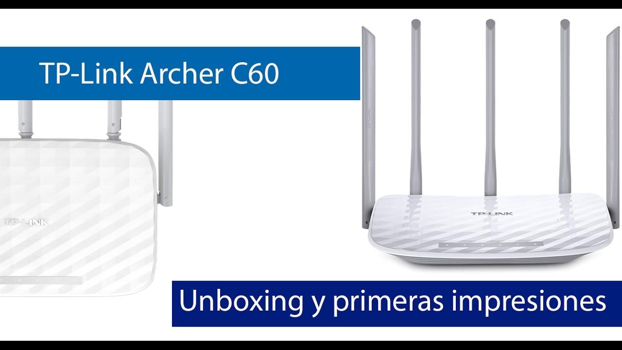 TP-Link Archer C60: Análisis de este router doble banda Wi-Fi AC1350