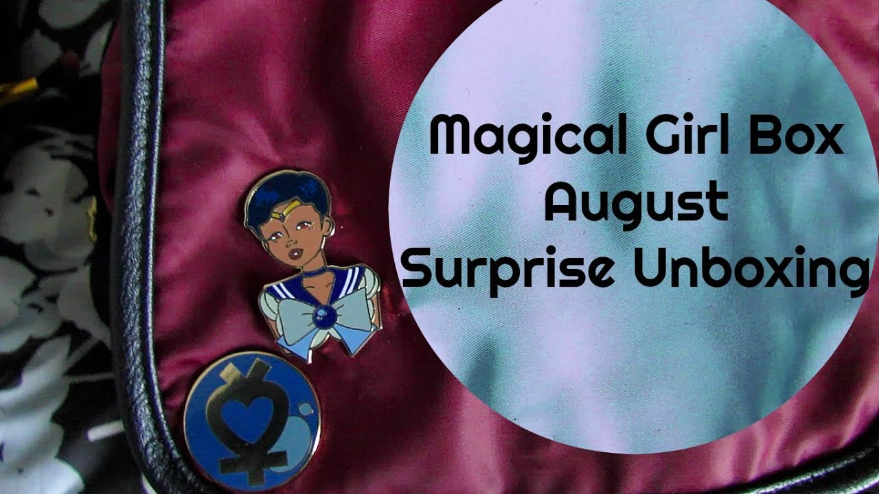 August Magical Girl Box Surprise Unboxing from AdornedbyChi