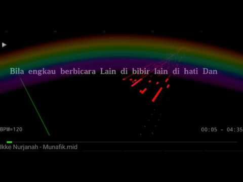 Karaoke Munafik Ikke Nurjanah No Vocal HQ Audio