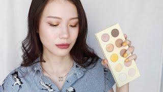 Yellow Eye Makeup Look丨Zoeva Blanc Fusion #Using all my eyeshadow palettes