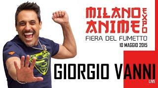 Giorgio Vanni a Milano Anime Expo 10 maggio 2015