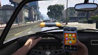 GTA 5 - Casual Sunday Drive In First Person (HD)