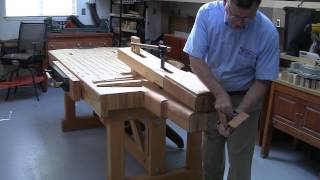 Foster Workbench -reverse Direction Operation Of The Foster Chair Vise©