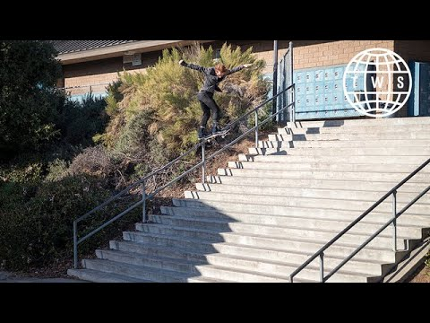 Adrien Bulard Backtail El Toro  New Life Part  TransWorld SKATEboarding