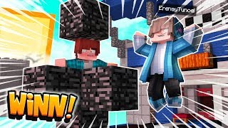 i used CREATIVE MODE to TROLL BEDWARS minecraft