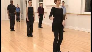 Salsa Basic Forward Crossover Step to Music 12/22