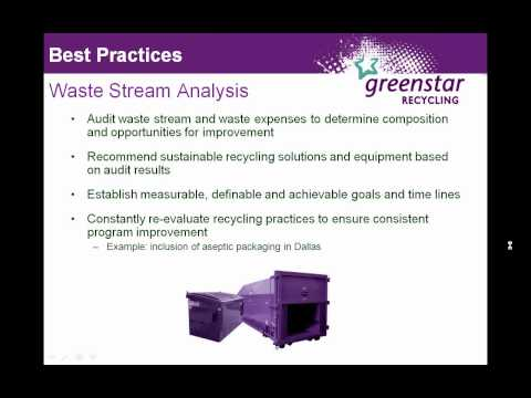 Waste Audits and Lowering Your Waste Costs