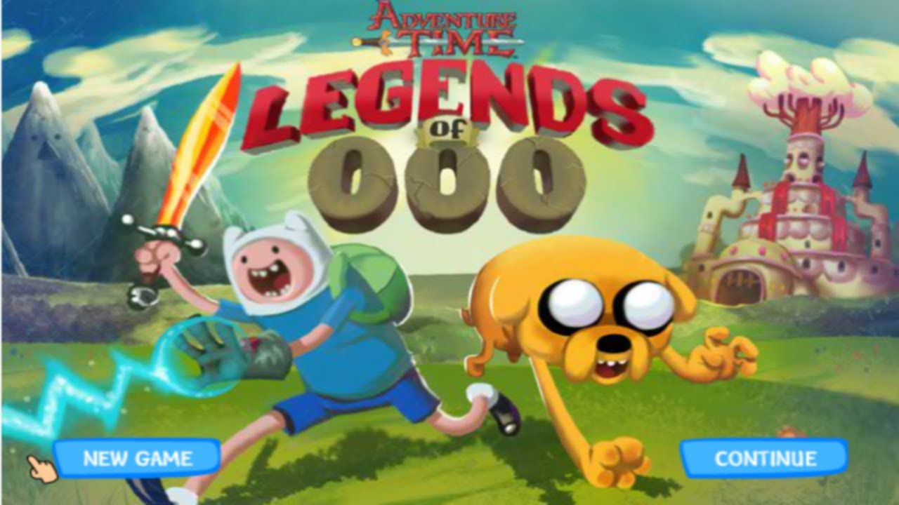 Cartoon Network Games Adventure Time Legends Of Ooo Full Walkthrough Youtube