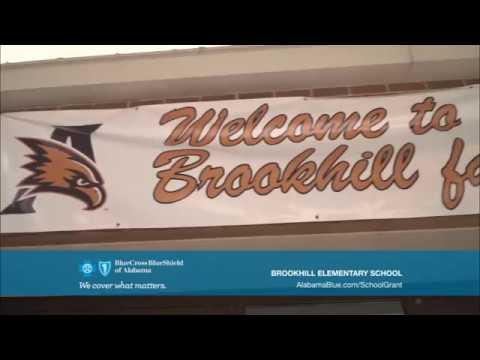 2017 - 2018 Be Healthy School Grant Recipient: #Brookhill Elementary School#