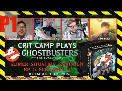 Crit Camp Ghostbusters EP1 - Slimer Situation S1 - P1