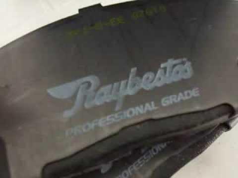 Pastillas De Frenos Hyundai Getz - Accent - Excel -  Dodge Brisa Raybestos Pro