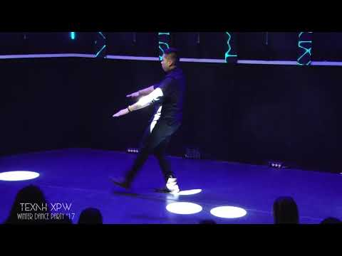 ΤΕΧΝΗ ΧΡΩ Winter Dance Party 2017 _ Popping Freestyle Solo