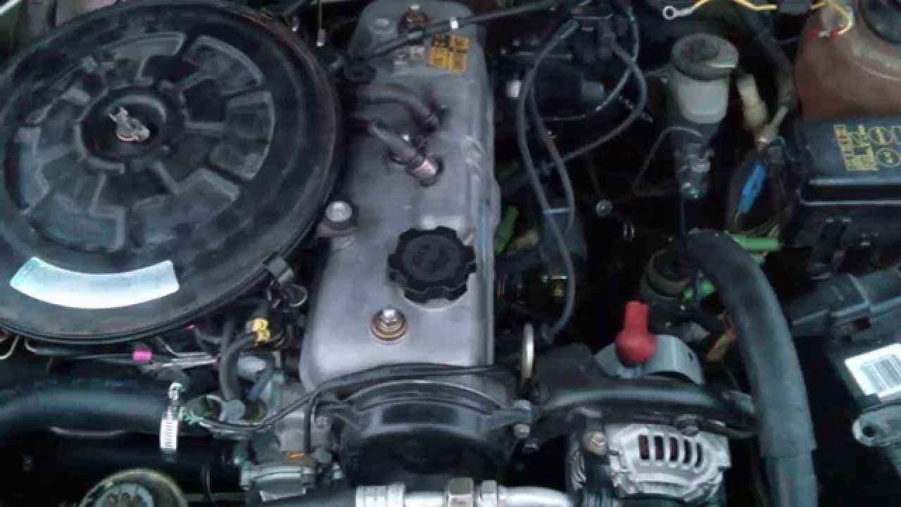 Maxresdefault on 1987 Toyota Tercel Engine