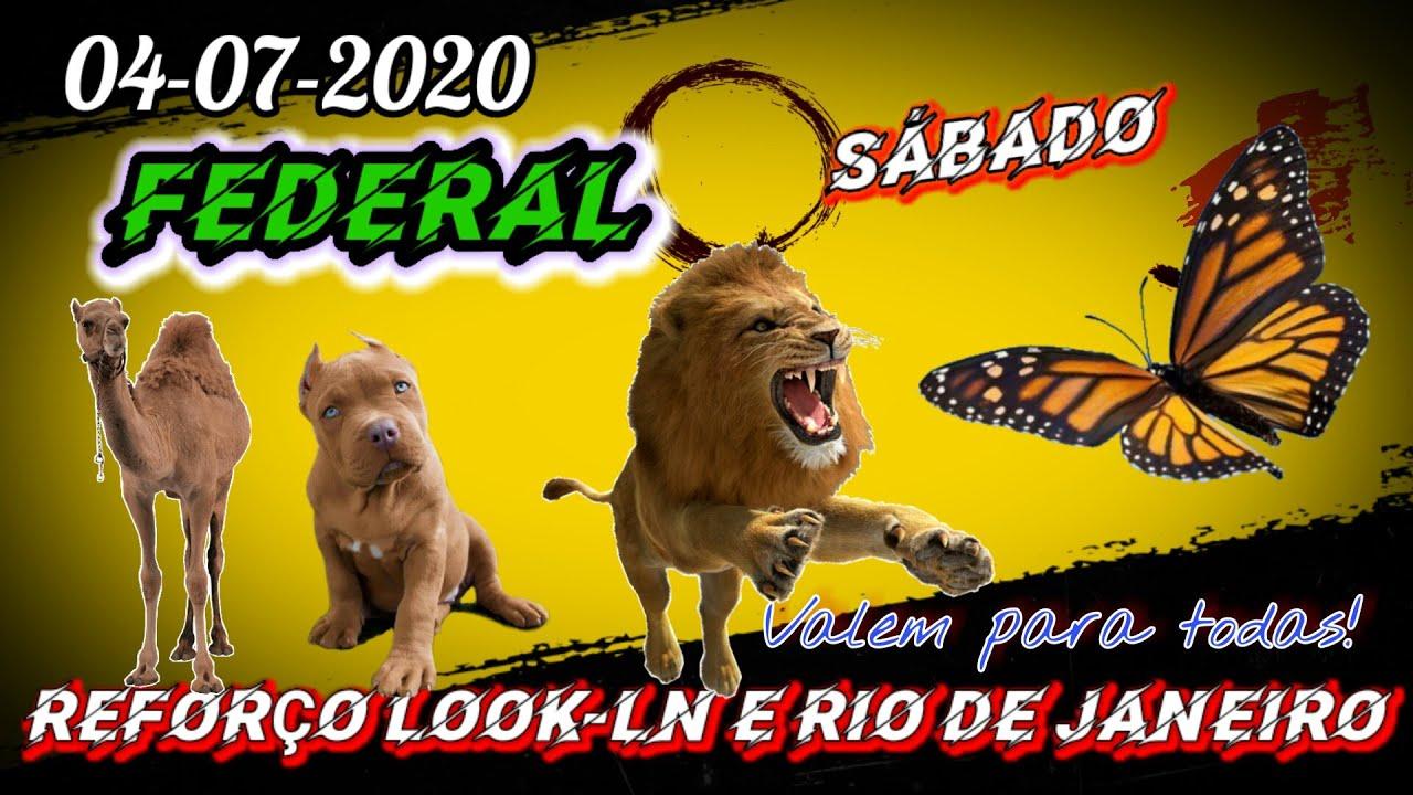 PALPITES PARA  O DIA 04-07-2020 DO JOGO DO BICHO -PALPITES PARA FEDERAL - PUXADAS PARA CRJ-LOOK!