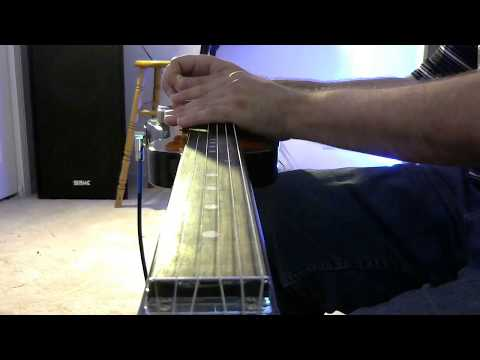 """rough cut """"high hopes"""" by pink floyd (lap steel solo)"""