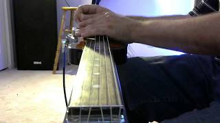 "rough cut ""high hopes"" by pink floyd (lap steel solo)"