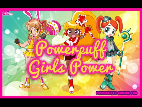 Powerpuff Girls Power- Fun Online Dress Up Fashion Games for Girls ...