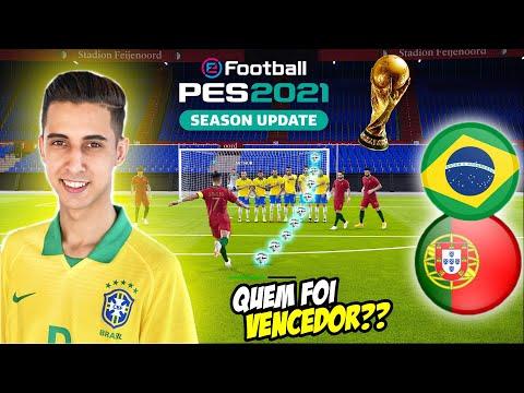 COPA DO MUNDO FINAL BRASIL vs PORTUGAL PES 2021 RUMO AO ESTRELATO #09 ‹ Rikinho ›