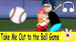 Take Me Out to the Ball Game | Family Sing Along - Muffin Songs