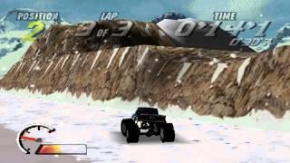 Thunder Truck Rally Gameplay Circuit Championship (PS1,PSX,PsOne)